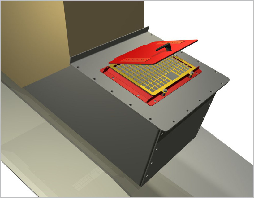 Inspection Door_TailBox_web & Safe-Guard® Conveyor Chute Inspection Doors