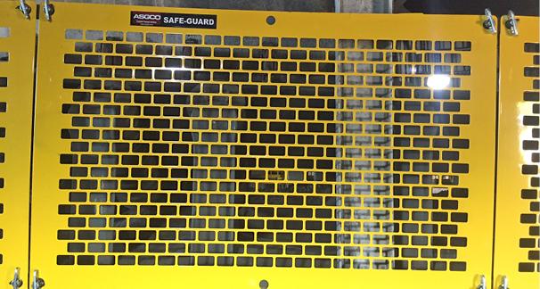 Safe Guard 174 Modular Conveyor Flat Guards Asgco 174