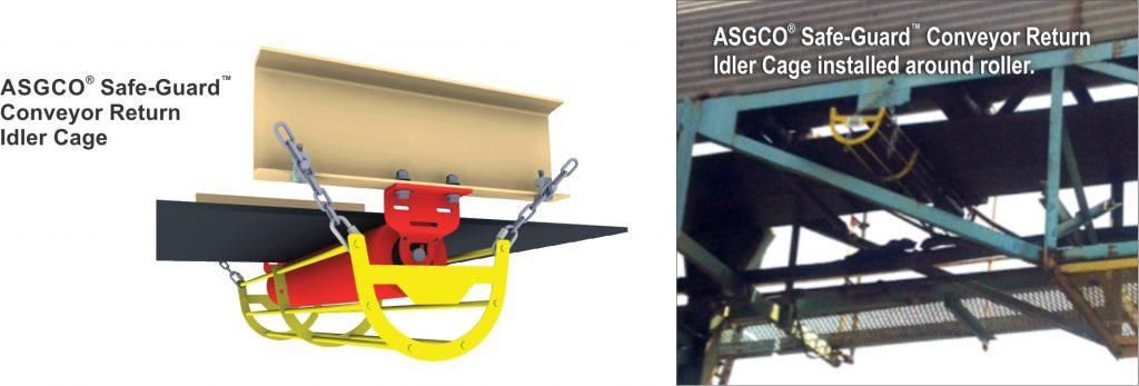 ASGCO® Safe-Guard™ Conveyor Return Idler Cages Solve ...