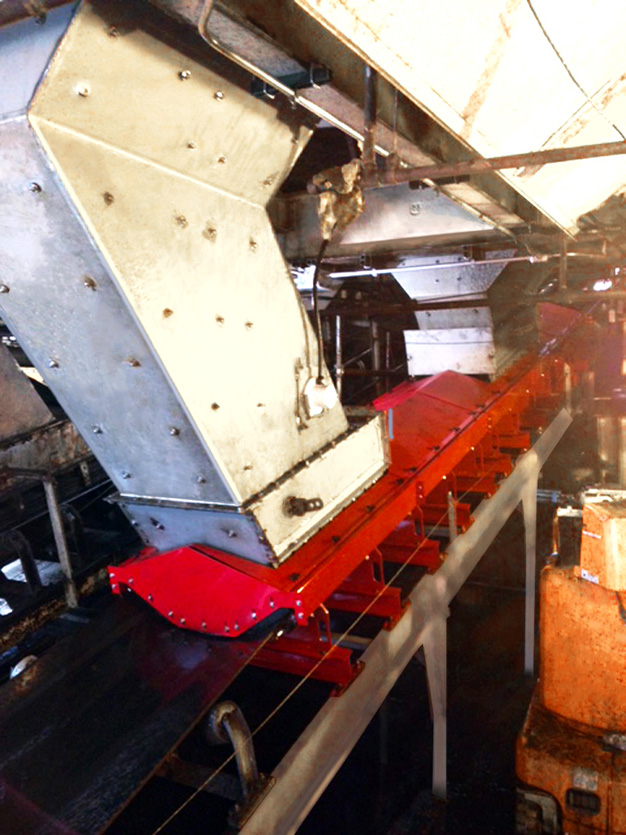 ASGCO® Engineering used the latest conveyor technology to solve coal and dust spillage problem in this load zone with Pro-Zone™ modular advanced dust containment system.