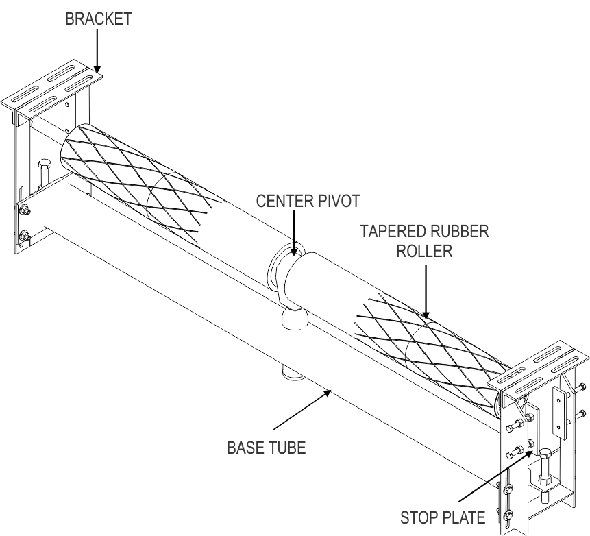 TT Dual Return Idler_diagram drawing_web