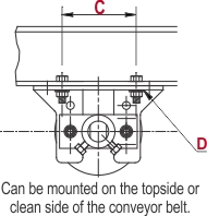 TruTrainer Flat Return Idler_C-D drawing_web