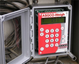 Completed ASGCO®-Weigh Totalizer installation