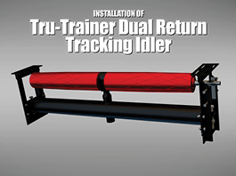 ASGCO® Tru-Trainer® Dual Return Tracking Idler-Installation Guide