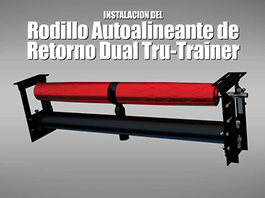 ASGCO® Tru-Trainer® Dual Return Tracking Idler-Installation Guide Spanish