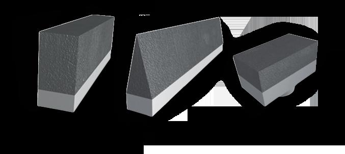 ASGCO Armorite™ Conveyor Wear Knife Edge & Shredder Tips