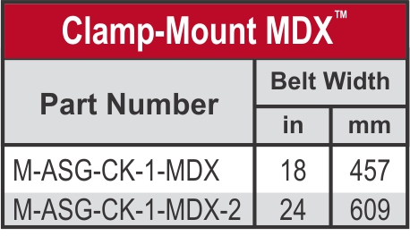 Clamp Mount MDX_Chart_web