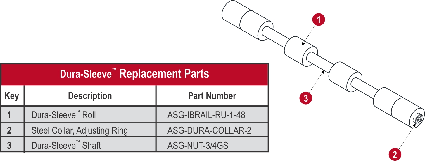Dura Sleeve_Replacement Part Diagram_2_web
