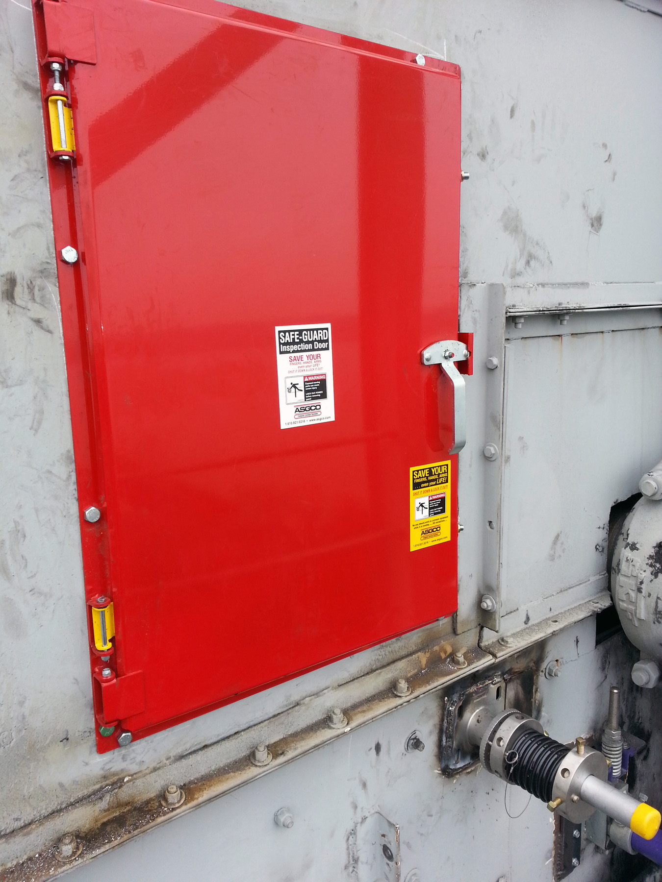 Safe Guard 174 Conveyor Chute Inspection Doors