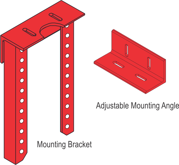 Secondary Mounting Brackets_Drawing