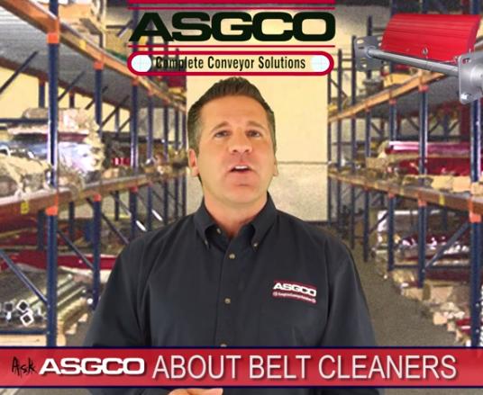 Belt Cleaner Video