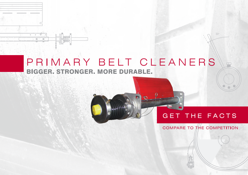 Get The Facts On Primary Belt Cleaners