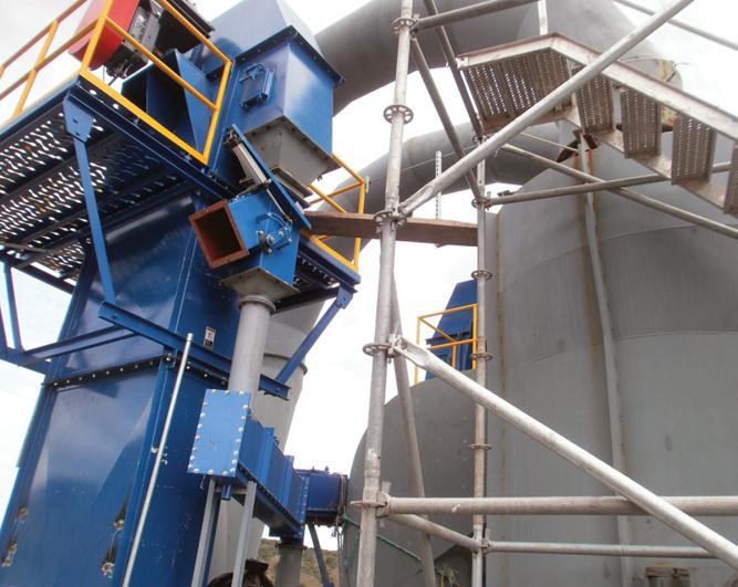 Shaftless Screw Conveyors Amp Bucket Elevators Asgco