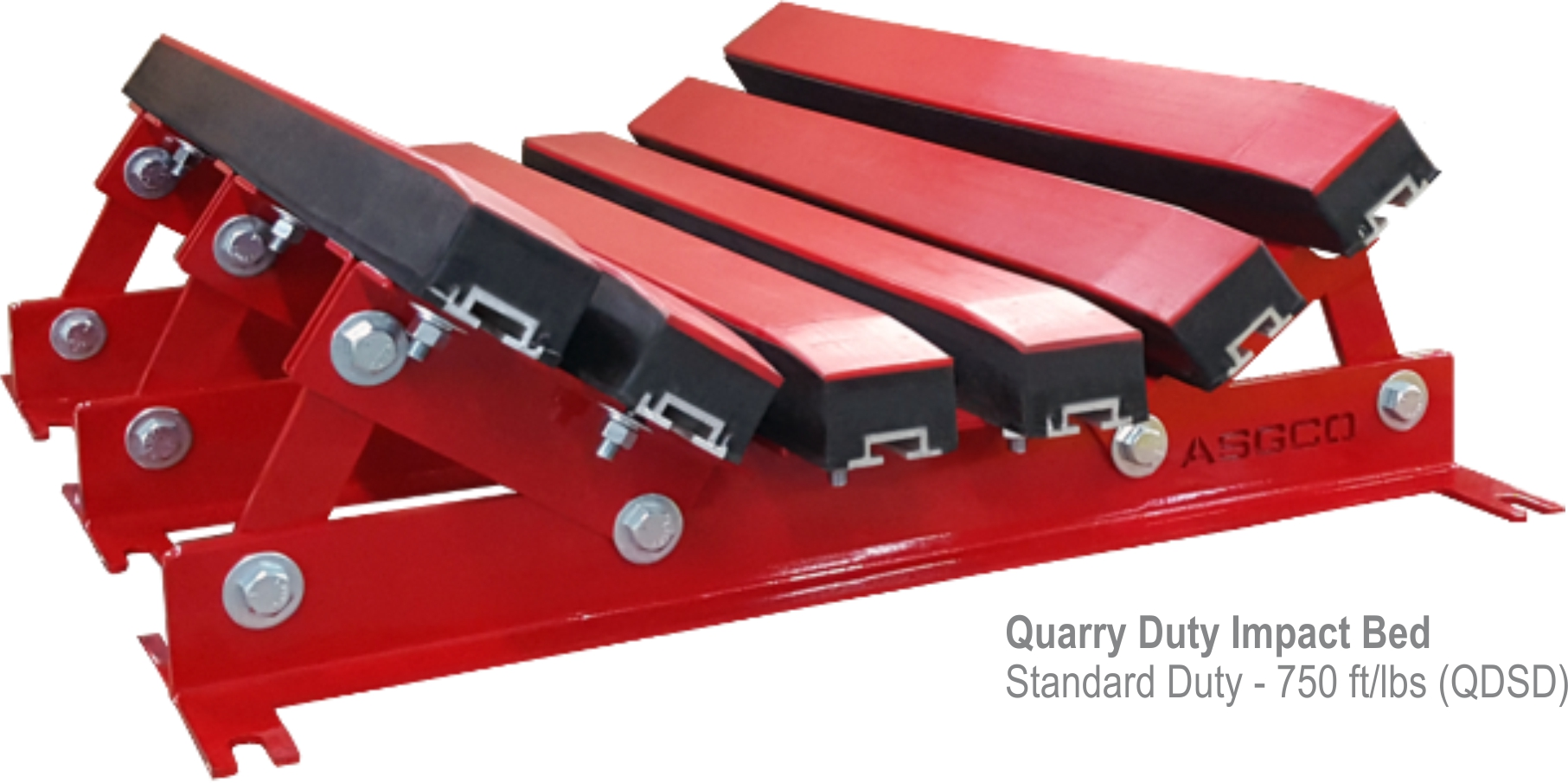 Quarry Duty Impact Beds ASGCO Conveyor Solutions