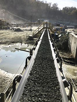 ASGCO® Quarry-Duty™ Conveyor Belt