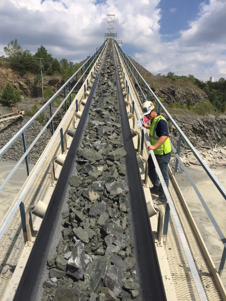 ASGCO Heavy Duty Conveyor Belting Quarry Duty
