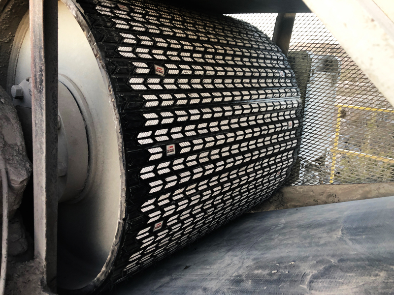 ASGCO Arrowhead Pulley Lagging - Conveyor Pulley Lagging