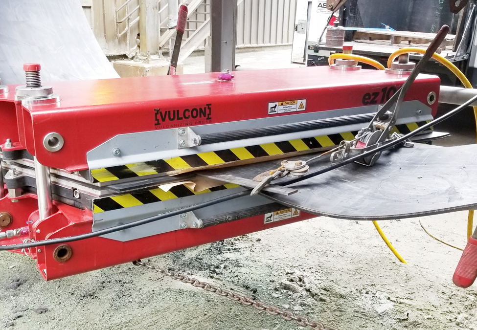 ASGCO EZ Press Vulcanizing Press