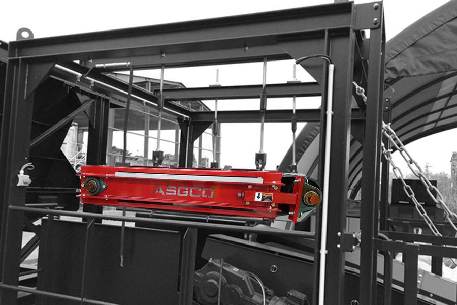 ASGCO Magnetic Separator - suspended