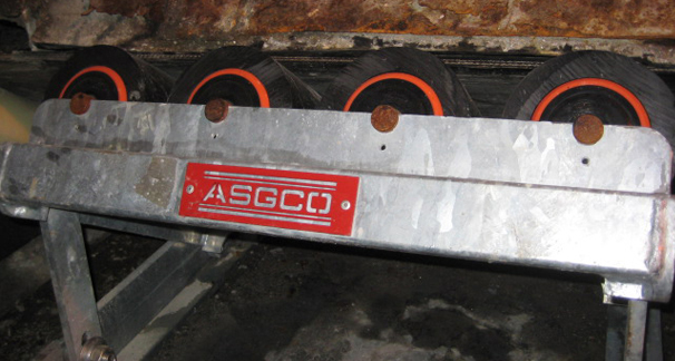 Roller Cassette Impact Bed frame