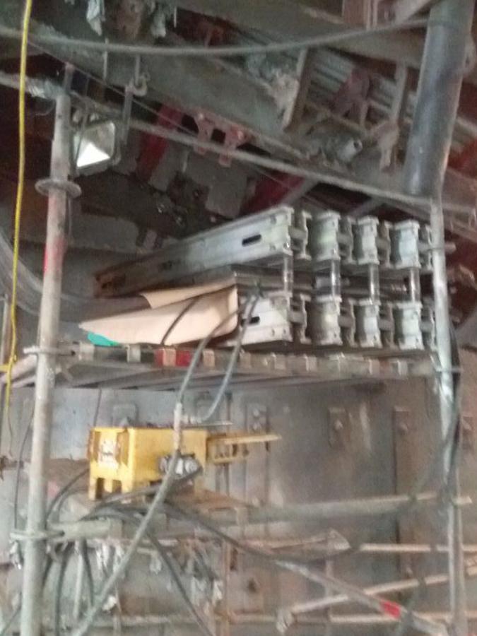 asgco, sectional press, vul-con, installation