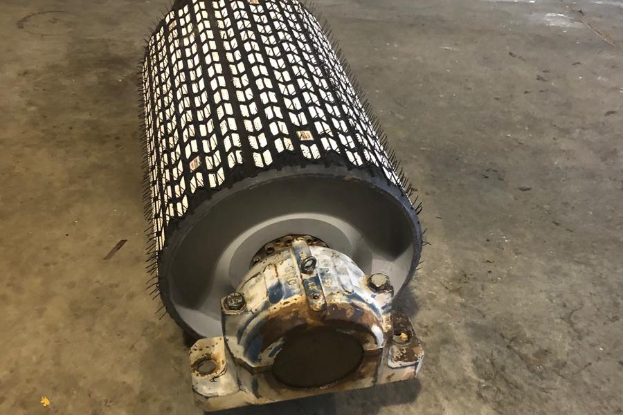 ASGCO, Arrowhead Ceramic Pulley Lagging, Conveyor Pulley Lagging,