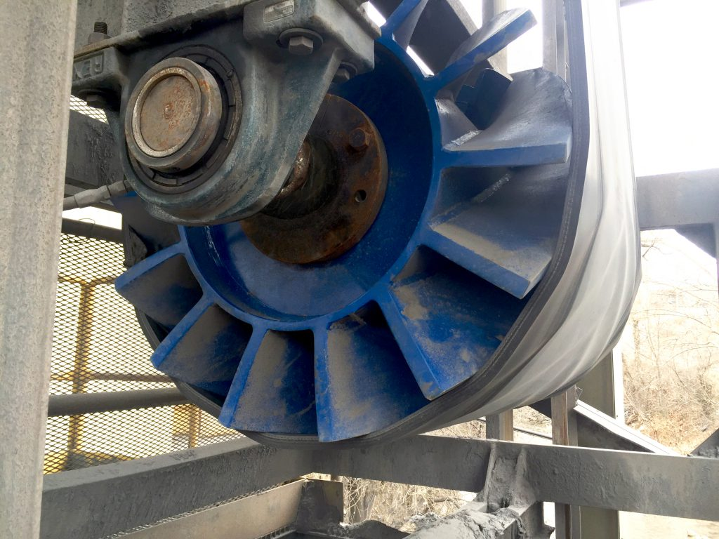 ASGCO Conveyor Pulley Wing Pulley