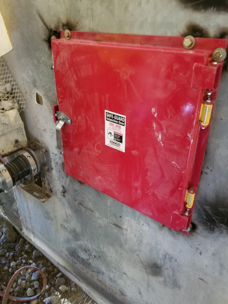asgco safe guard inspection door
