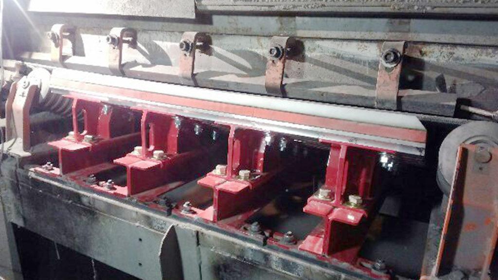 asgco impact cradle bed conveyor belt