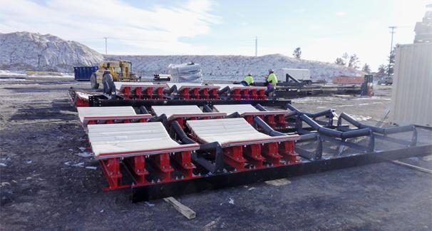 Conveyor Impact Bed