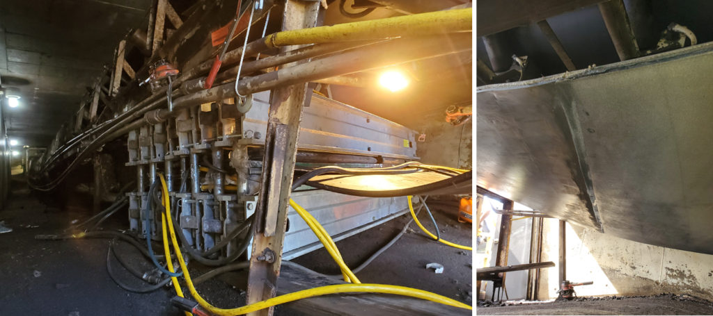 asgco, conveyor belt splicing and vulcanizing, coal bulk shipping terminal