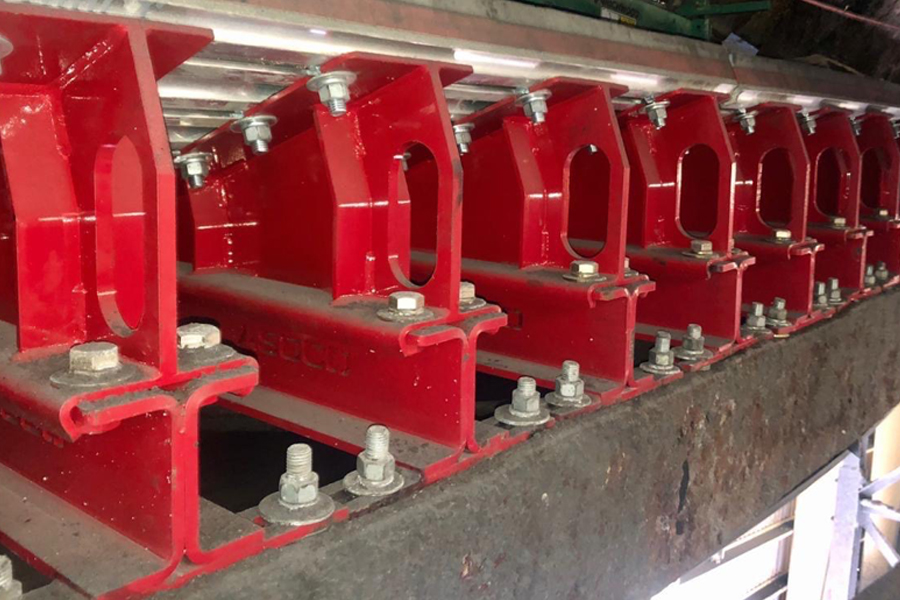 ASGCO Conveyor Impact Bed