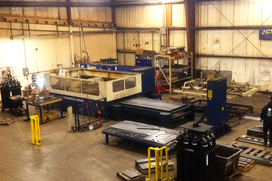 asgco lehigh valley steel fabrication CNC Laser Cutting Machine