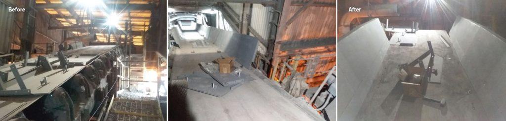 asgco, steel fabrication, installation, skirt wall, service