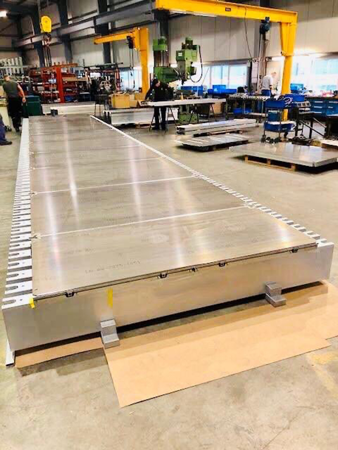 manufacturing platens