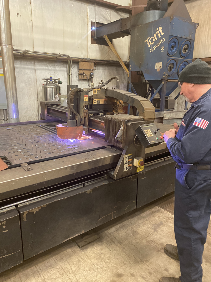 asgco cnc plasma table steel fabrication