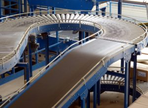 Sloped conveyors
