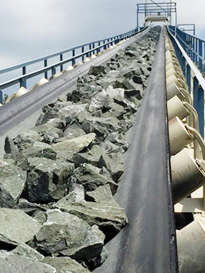 ASGCO Quarry Flex Conveyor Belt