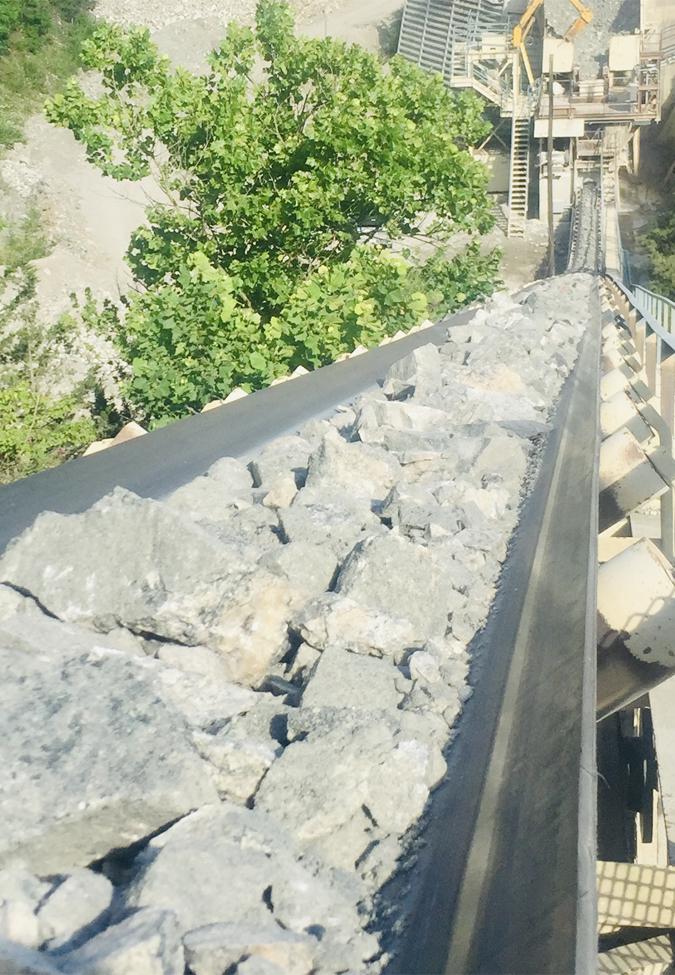 asgco conveyor belt Quarry Flex