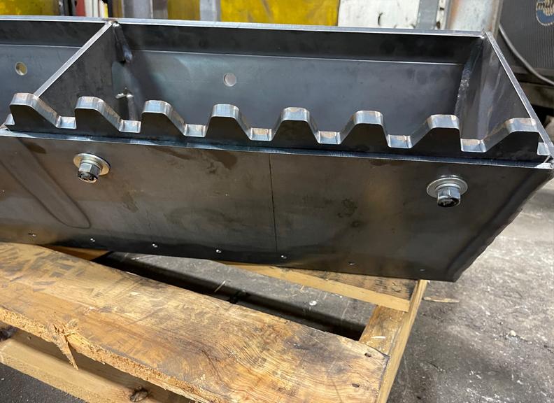asgco steel fabrication custom fabricated steel digger bucket